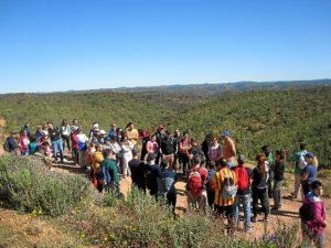 senderismo ituci verde por la sierra de tejada en la provincia de Huelva (1)