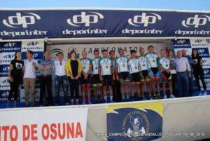 Campeón Andalucía David Gil, del Monferve La Palma.