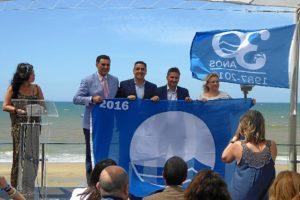 2016 06 10 Recogida de la Bandera Azul de la Playa de Islantilla