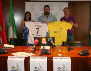 Presentación del Campus deportivo Iker Casillas en Cartaya.