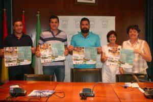 Presentación del Campus de baloncesto Antonio Gómez y Rafa Rufián en Cartaya.