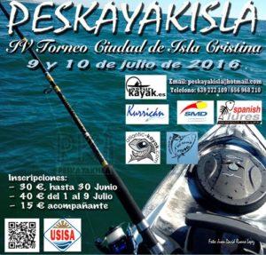 Cartel del Peskayakisla.