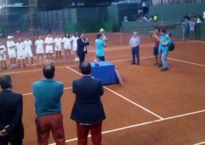 Joao Domingues, ganador de la 91 Copa del Rey de tenis.