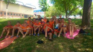Equipo del Club Natación Huelva.