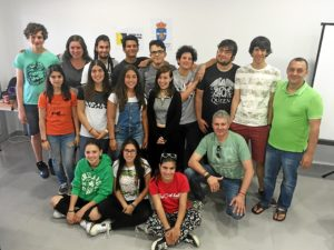Foto grupo curso Erasmus+