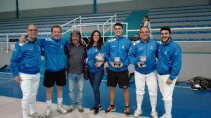 Club Esgrima Huelva en Granada.
