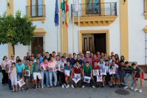 Equipos juveniles del CD Siempre Alegres.