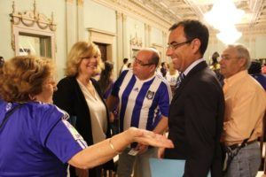 Ángel Sánchez, portavoz del Partido Popular en el Ayuntamiento de Huelva.