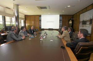 Presidente Puerto de Huelva Consejero de Economia de Extremadura