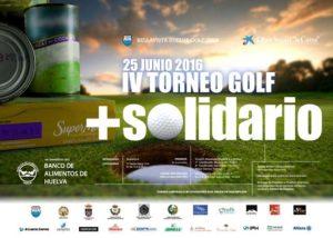Torneo de golf solidario en Bellavista.