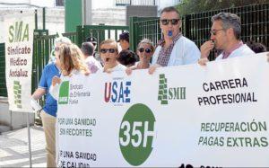 Sindicatos Profesionales Sanitarios ante los Recortes002
