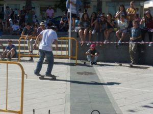 Skate en Lepe.