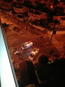 accidente motorista muerto en La Antilla