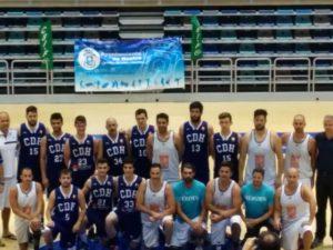 Final de baloncesto de los Juegos Europeos de Policías y Bomberos.