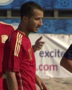 Fernando Guisado, jugador del CD Pinzón.