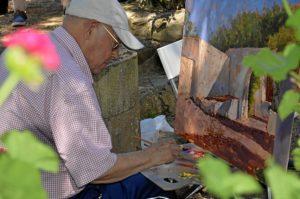 pintura aire libre en Ayamonte (2)
