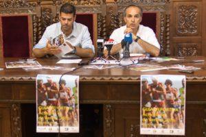 Presentación de la preguía deportiva en Ayamonte.