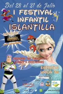 Cartel Festival Infantil Islantilla