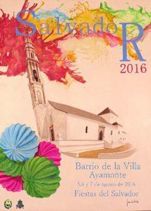 Cartel fiestas del Salvador