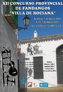 Concurso fandangos Rociana