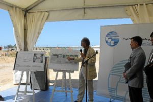 Explicacion obras Lonja Puerto de Huelva