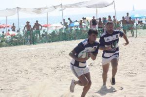 Torneo de rugby playa en Punta  Umbría.