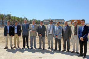 Incio obras Lonja Puerto de Huelva