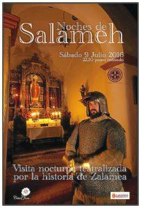 Noches de Salameh viaje nocturno por la historia de Zalamea