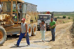 Obras camino Bollullos (1)