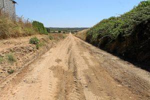 Obras camino Bollullos (2)