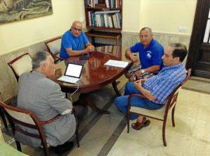 Reunioon con los pescadores deportivos