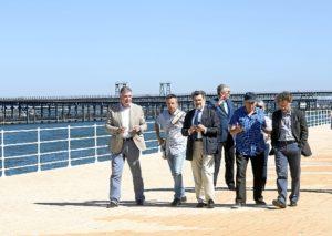 Visita al Paseo de la Ria Puerto Huelva1julio16II