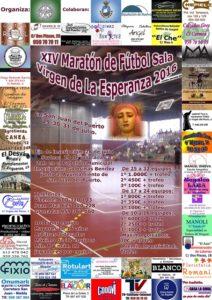 XIV Maraton Futbol Sala en San Juan del Puerto.