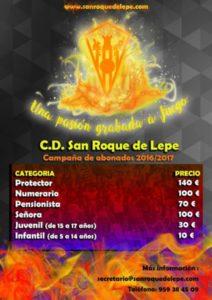 Campaña de socios del San Roque de Lepe.
