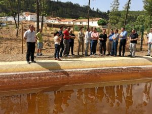 inauguracion etap en mina concepcion (almonaster la real)