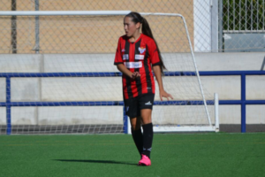 Irene, jugadora del Cajasol Sporting.