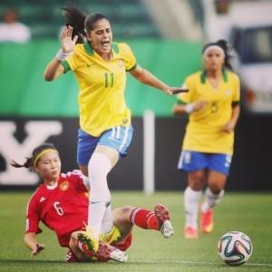 Patricia Sochor, nueva jugadora brasileña del Fundación Cajasol Sporting.