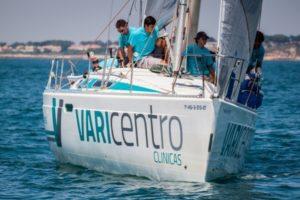 Barco del Sabara-Varicentro en la Copa del rey de vela.