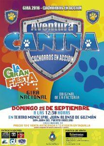 160817 Cartel Aventura Canina