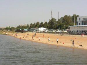Concurso de pesca en el Club Martítimo de Huelva.