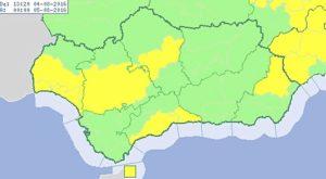 Aviso amarillo