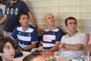 Paco Ojeda, director deportivo del IES La Orden y Antonio Ramos, concejal de Deportes.