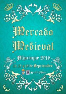 Cartel Mercado Medieval 2016
