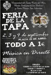 Festejos Feria Tapa Hermandad Semana Santa
