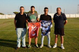 Lobo y Lucho, nuevos jugadores del CD Pinzón.