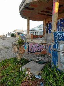 edificio ruina La Antilla