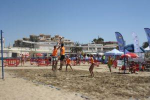 Circuito provincial de voley-playa.