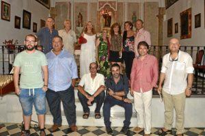 los Poetas del Guadiana junto a los autores.