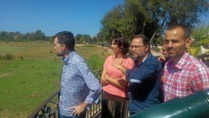Antonio Maillo y diputados en Huelva (1)