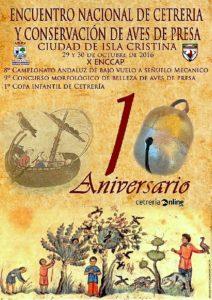 Cartel 10 ENCCAP Ciudad de Isla Cristina 29 y 30 Octubre 2016